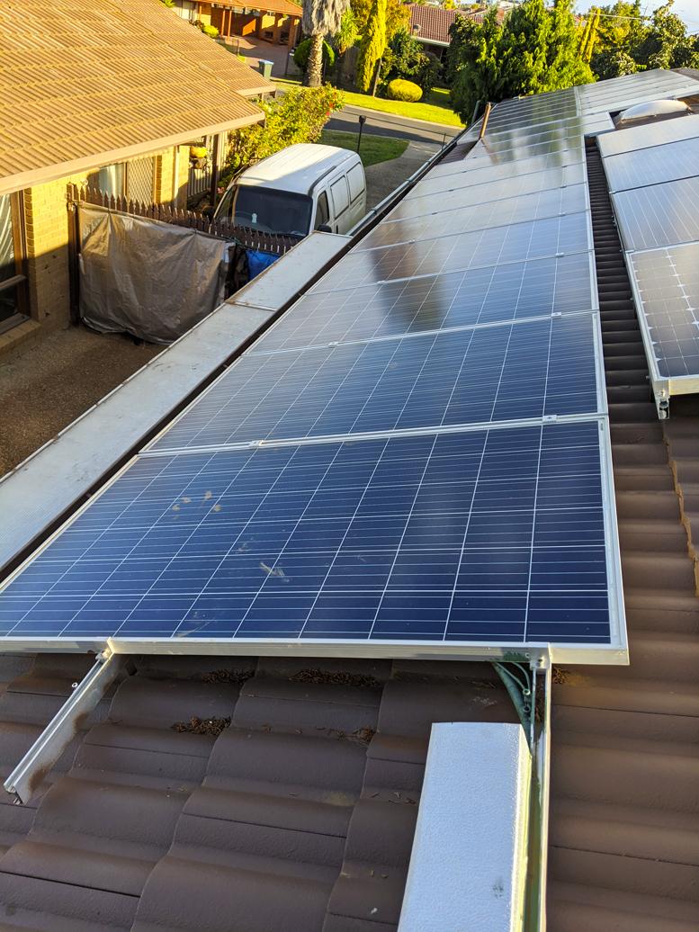 east solar array