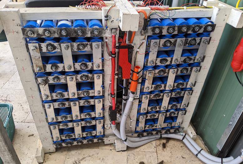 lithium titanate battery wall