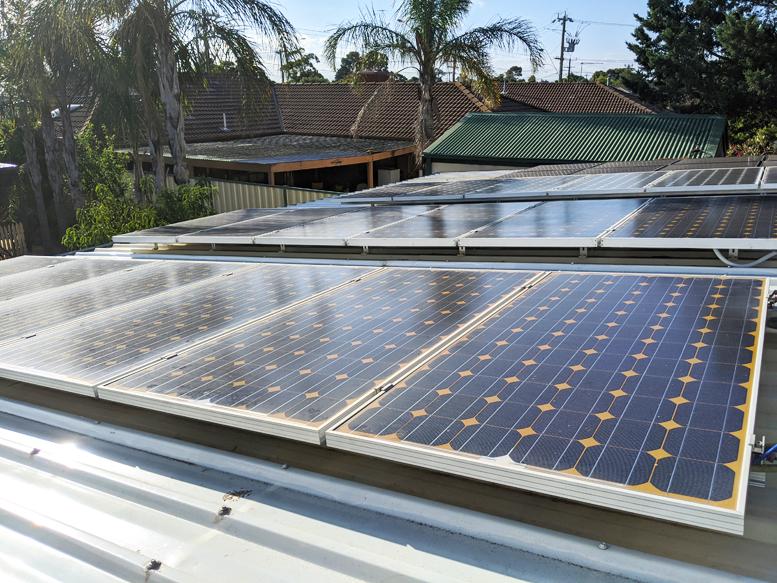 west solar array