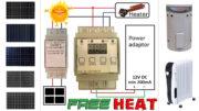 free solar heater